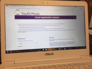Applying to Youth Music for funding