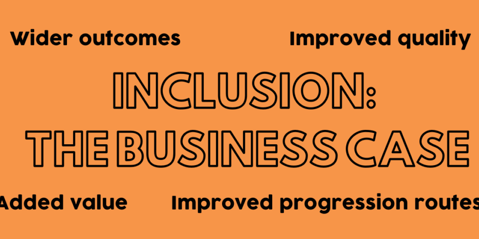 Musical inclusion - the business case