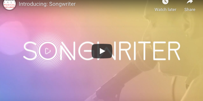 Songwriter website image